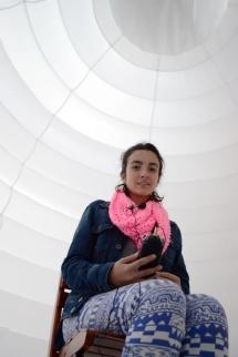 dreamer at the Jorge Taleo University, Bogotà, Colombia